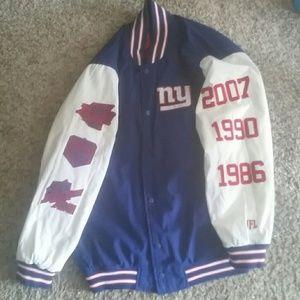 New York Giants Varsity Jacket